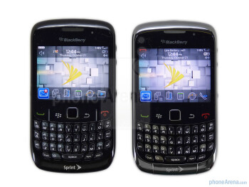 The RIM BlackBerry Curve 3G 9330 is identical to the outgoing 8530 (right) in terms of design - RIM BlackBerry Curve 3G for Sprint Review