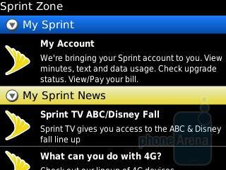 Sprint Zone - RIM BlackBerry Curve 3G for Sprint Review