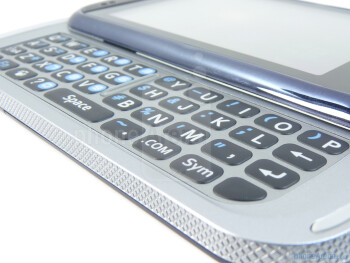 The Pantech Laser has a 4 row QWERTY keyboard - Pantech Laser Review