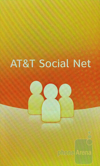 AT&T's Social Net app provides  a centralized area for all your social networking needs - Pantech Laser Review