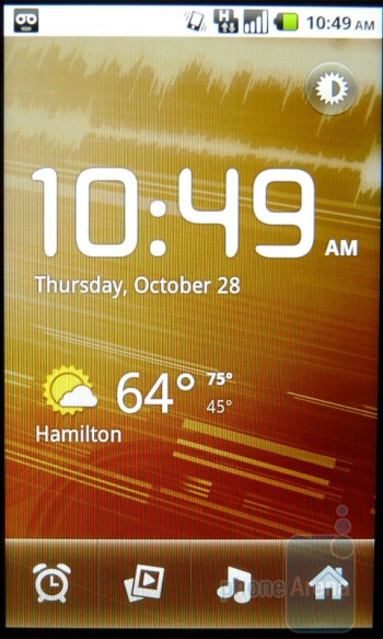 The clock app - T-Mobile G2 Review