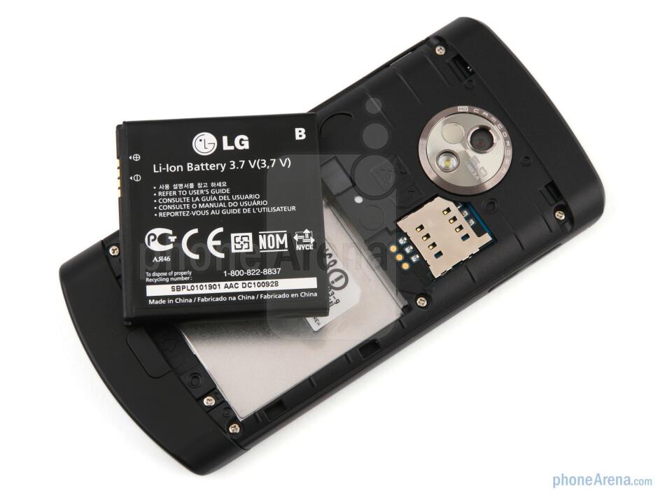 Back - LG Optimus 7 Review