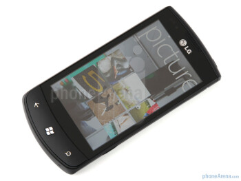 The LG Optimus 7 offers a 3.8-inch screen - LG Optimus 7 Review