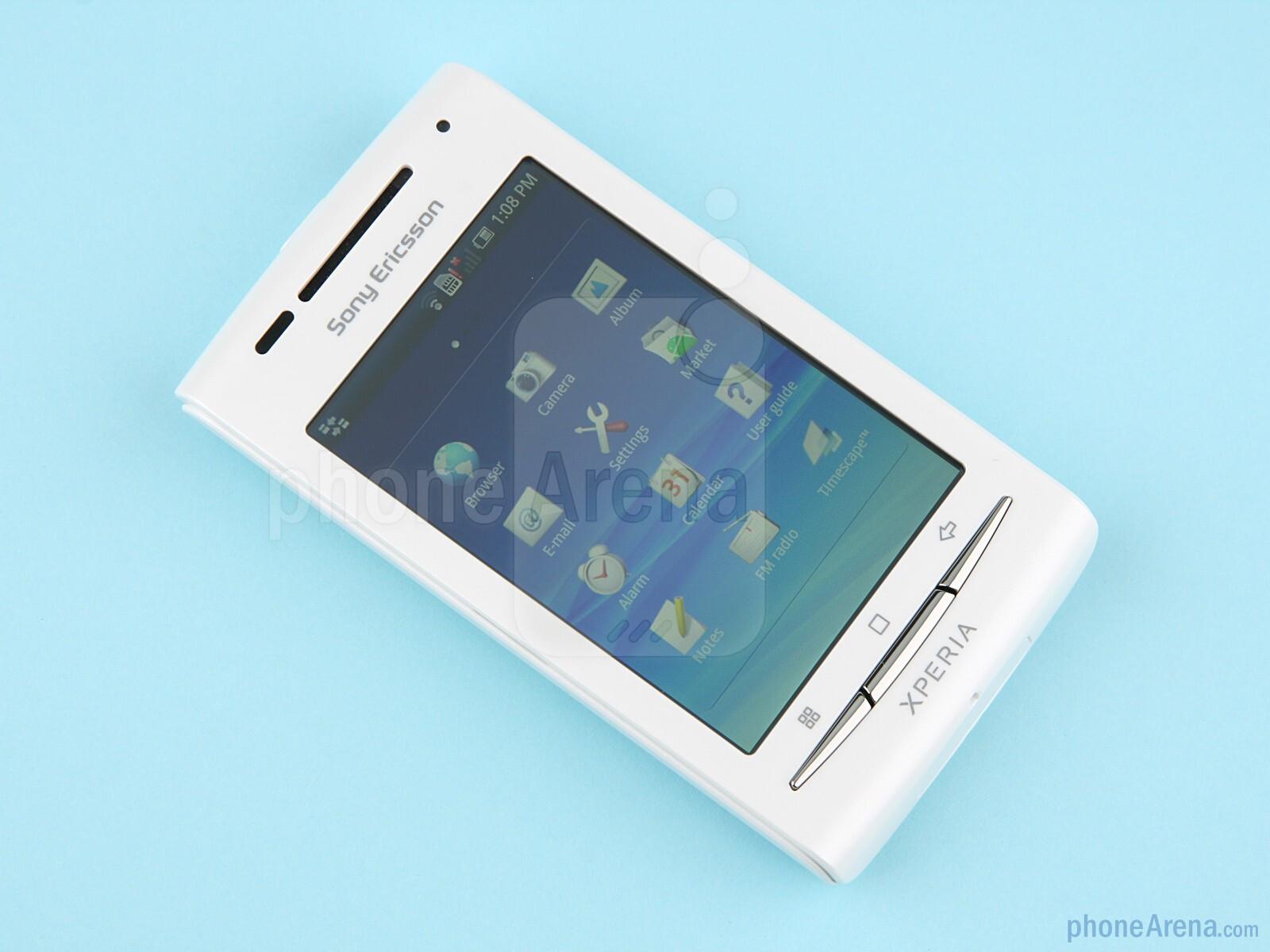 Sony Ericsson Xperia X8 Ревю