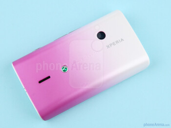 The Sony Ericsson Xperia X8 is by no means an unattractive phone - Sony Ericsson Xperia X8 Review