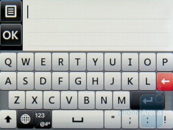 Keyboard - Dialer - LG Cookie 3G Review