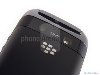 The back of the RIM BlackBerry Style - RIM BlackBerry Style Review