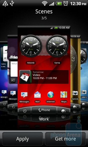 The abilities to customize the interface are mind-boggling - HTC Desire Z Review
