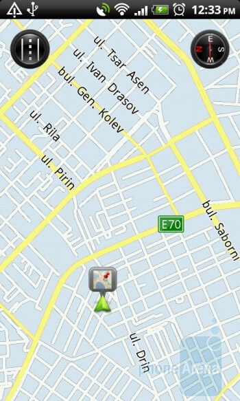 Navigation on the HTC Desire Z - HTC Desire Z Review