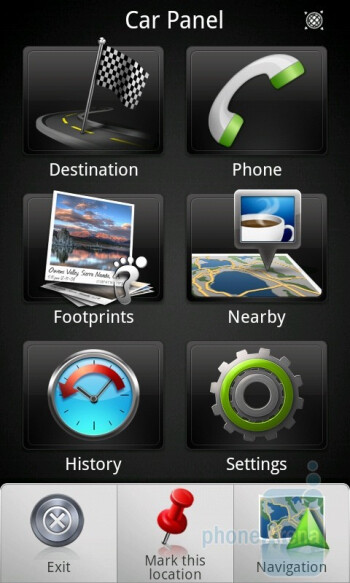 Navigation on the HTC Desire Z - HTC Desire Z Review