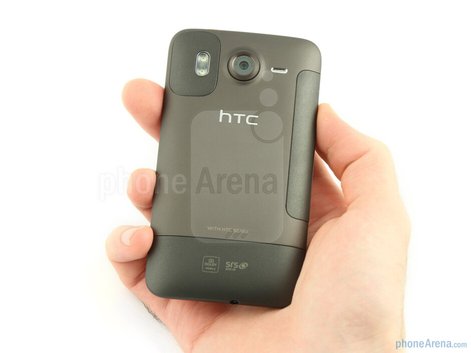 The HTC Desire HD is a glorious amalgam of aluminium unibody and glass fronted fascia - HTC Desire HD Review