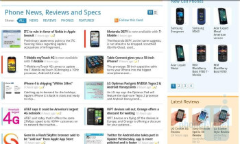 Surfing the web with the HTC Desire HD - HTC Desire HD Review