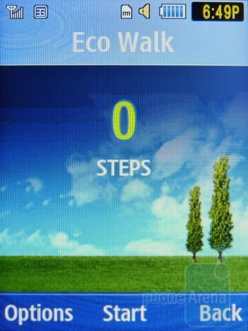 The Eco Walk app - Samsung Evergreen Review