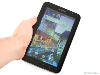The Samsung Galaxy Tab is more compact than the Apple iPad - Samsung Galaxy Tab Review
