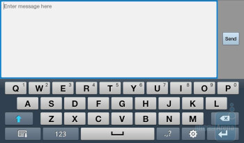 Email and Messaging on the Samsung Galaxy Tab - Samsung Galaxy Tab Review