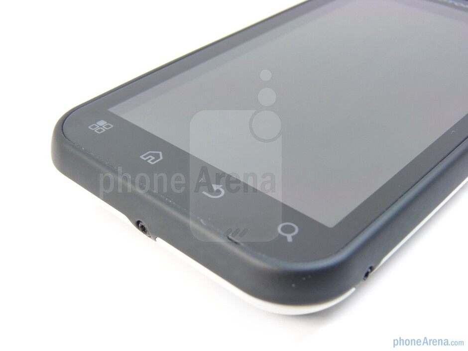 Capacitive buttons - Motorola DEFY Review