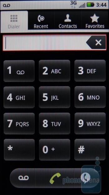 Dialpad - Motorola DEFY Review