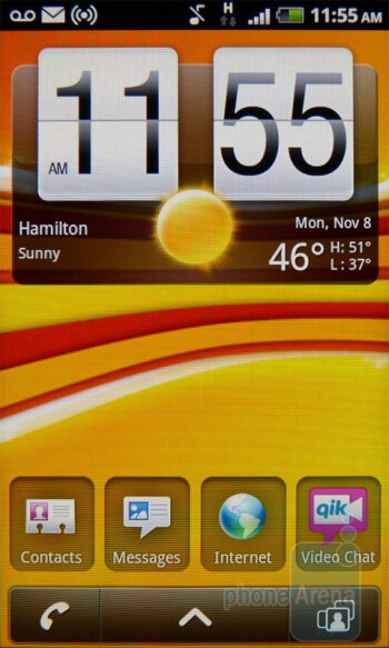 The T-Mobile myTouch 4G is immersing users in the latest version of the Sense UI running on top of Android 2.2 Froyo - Google Nexus S vs T-Mobile myTouch 4G