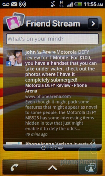 Friend Stream - T-Mobile myTouch 4G Review