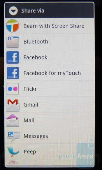 The Gallery app - T-Mobile myTouch 4G Review