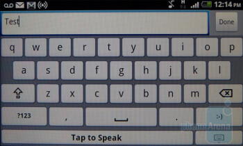 Dragon Dictation keyboard - T-Mobile myTouch 4G Review