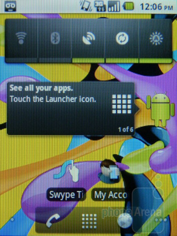 The T-Mobile Comet presents a stock Android 2.2 Froyo experience - T-Mobile Comet Review