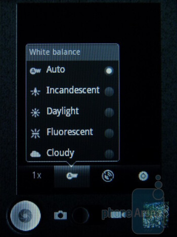 Camera interface - T-Mobile Comet Review