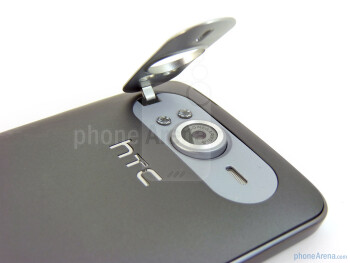 The flip out kick stand - HTC HD7 Review