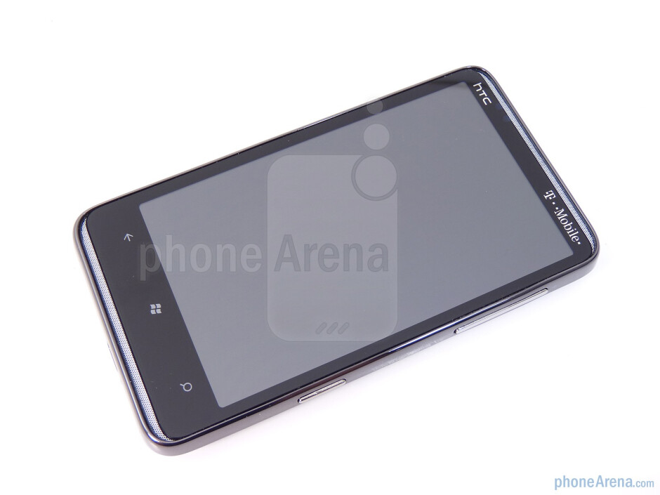 """The 4.3"""" Super LCD display is a real eye popper - HTC HD7 Review"""