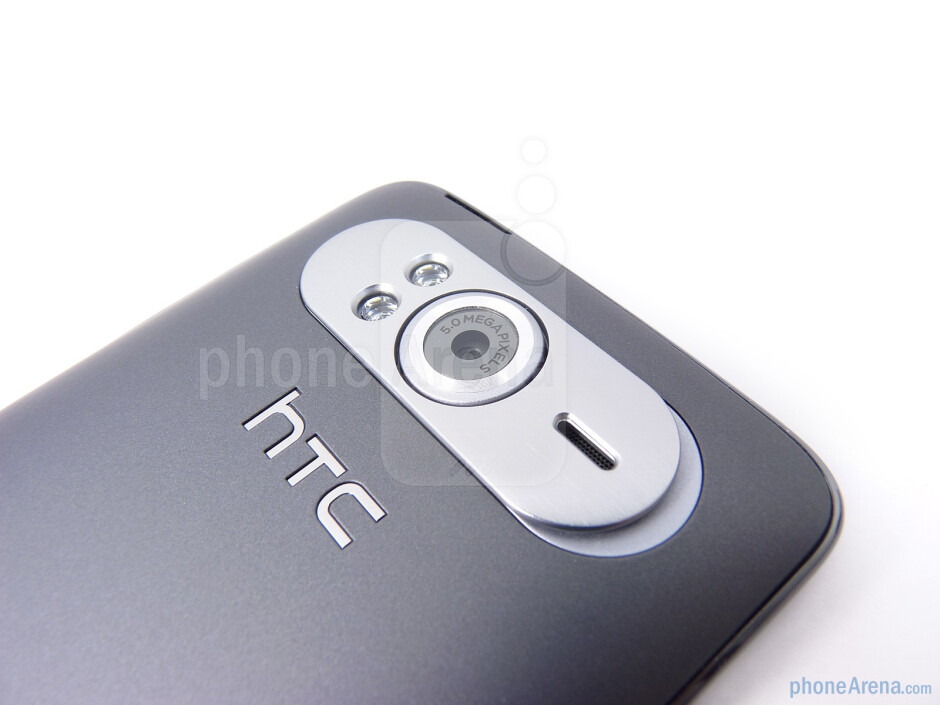 The back of the HTC HD7 - HTC HD7 Review