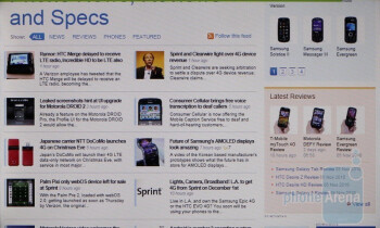 The new Internet Explorer - HTC HD7 Review