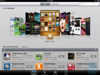 The App Store - Samsung Galaxy Tab vs Apple iPad