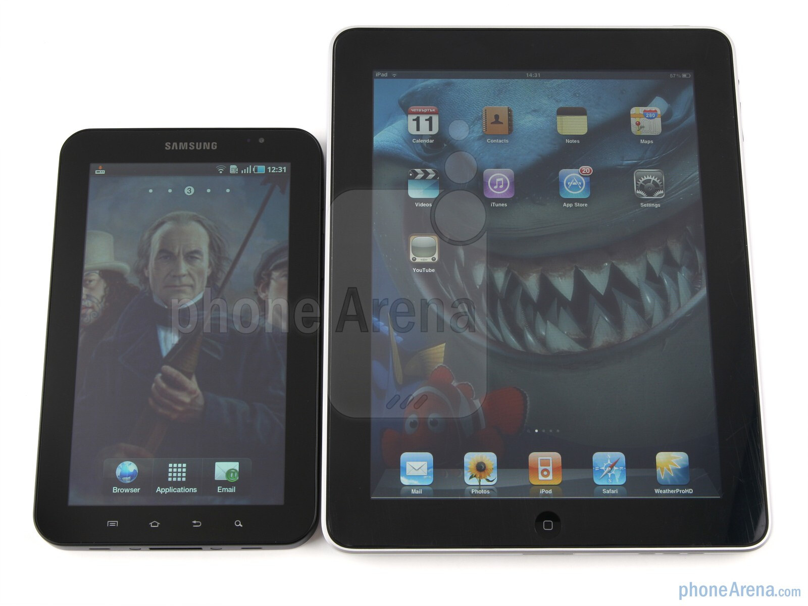 samsungs galaxy and apples i pad [updated aug 25, 2012] - before launching into this review, which pits samsung's galaxy tab 101 against apple's ipad 2, i took a few days to familiarize myself with the galaxy tab's android 31 (honeycomb) os.