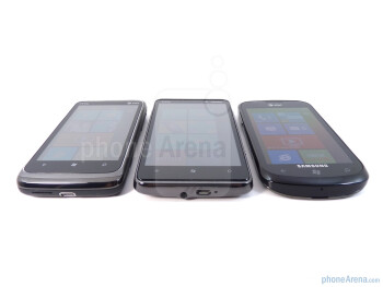HTC Surround, HTC HD7, Samsung Focus - HTC HD7 vs HTC Surround vs Samsung Focus