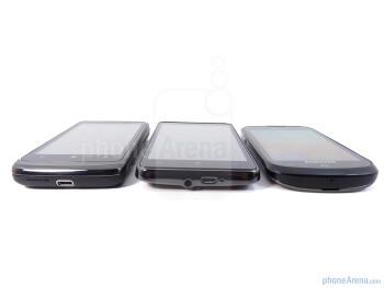 HTC Surround, HTC HD7, Samsung Focus - HTC HD7 vs HTC Surround vs Samsung Focus