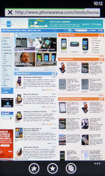 Internet browsing - HTC HD7 vs HTC Surround vs Samsung Focus