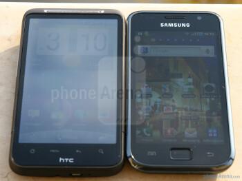 Sunlight visibility test - HTC Desire HD vs Samsung Galaxy S