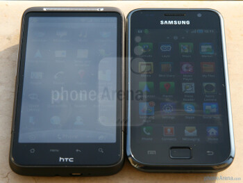 Sunlight visibility test - HTC Desire HD vs Samsung Galaxy S