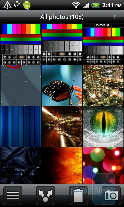 Gallery of the HTC Desire HD - HTC Desire HD vs Samsung Galaxy S