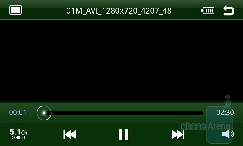 Video playback on the Samsung Galaxy S - HTC Desire HD vs Samsung Galaxy S