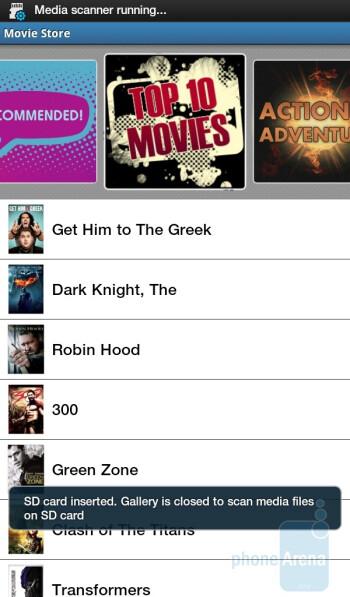 Media Hub - Samsung Galaxy Tab for the U.S. Review