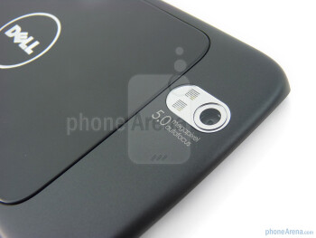 The Dell Streak has 5MP camera with dual-LED flash - Dell Streak Review