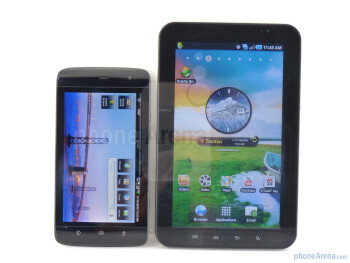Dell Streak vs Samsung Galaxy Tab