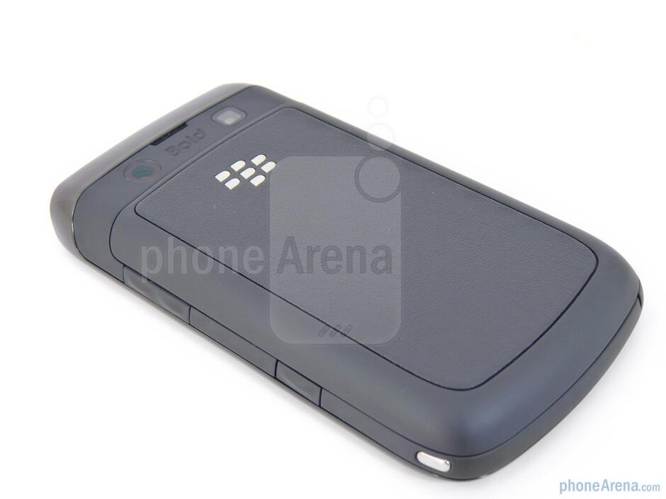 Back - RIM BlackBerry Bold 9780 Review
