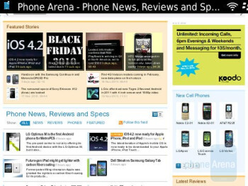 Pages manage to load up in a decent amount of time on the RIM BlackBerry Bold 9780 - RIM BlackBerry Bold 9780 Review