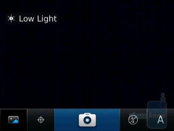 Camera interface - RIM BlackBerry Bold 9780 Review