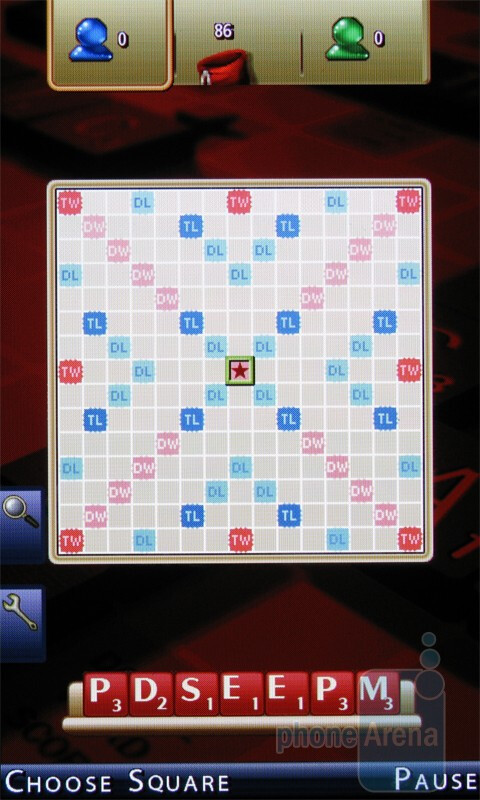 Scrabble - Samsung Continuum Review