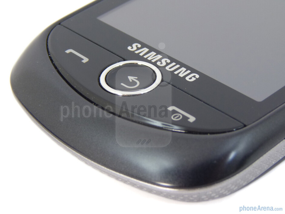 The end, back/clear, and send buttons - Samsung Solstice II Review