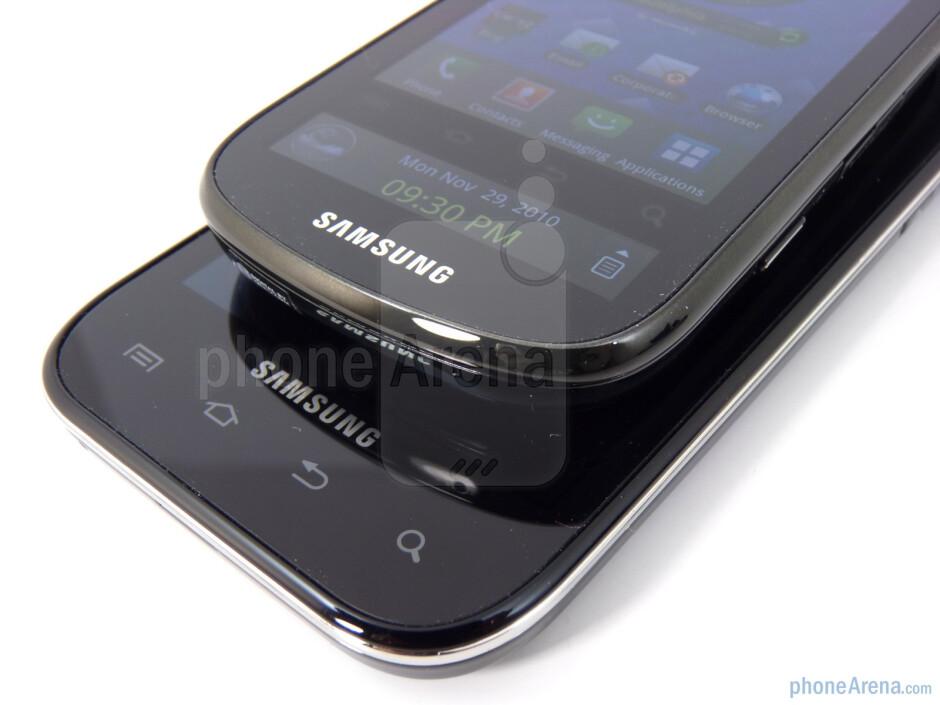 Samsung Fascinate (bottom) and Samsung Continuum (top) - Samsung Continuum vs Samsung Fascinate
