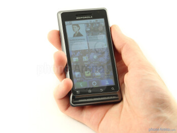The Motorola MILESTONE 2 has great build quality - Motorola MILESTONE 2 Review